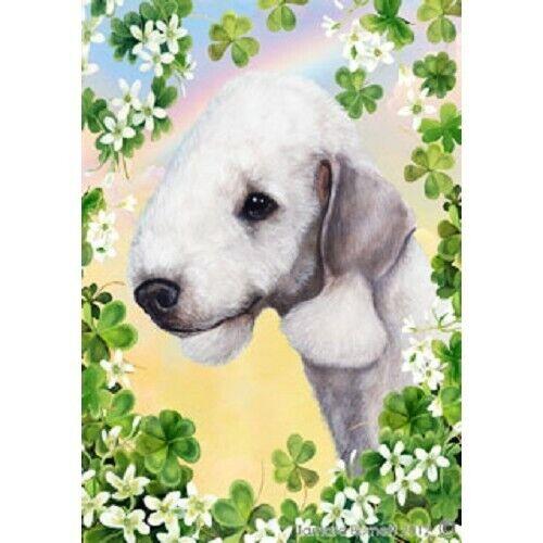 Clover House Flag - Bedlington Terrier 31132