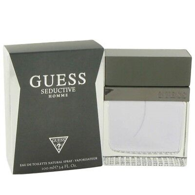 Guess Seductive Homme by Guess 3 4 oz EDT Cologne for Men New In Box