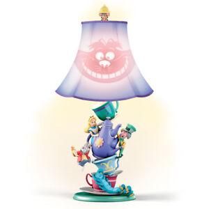 Disney ALICE IN WONDERLAND Mad Hatter's Tea Party Lamp NEW