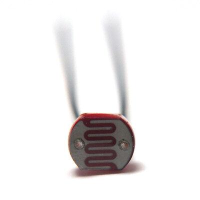 10pc Photoresistor 10k-1m Ohm Ldr Photo Resistors Light-dependent Resistor Usa
