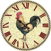 Cockerel Clock