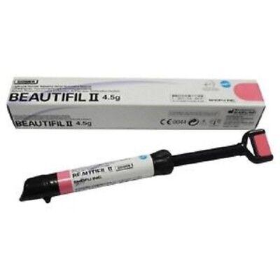 Shofu Beautifil Ii 4.5g Dental Composite Fluoride Releasing Shade A1 A2 A3 Bw