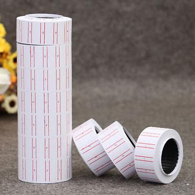 Retail Store White Price Gun Sticker Label Tag Refill Mx 5500 1pc Roll