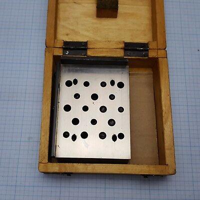 Small Sized Sine Bar 100x80mm For Machinist Toolmaker Sinuslineal 1