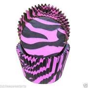 Zebra Cupcake Liners