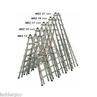 Little Giant 13 Skyscraper MXZ Stepladder new ...