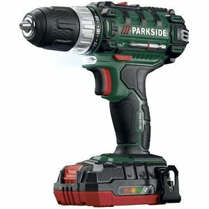 New cordless drill 20v lithium ion battery screwdriver - Parkside batterie de rechange ...