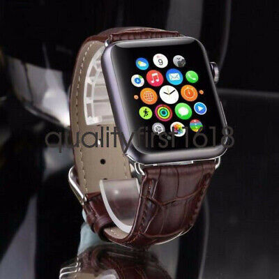 Genuine Leather iWatch Watch Band Strap for Apple Watch Seri