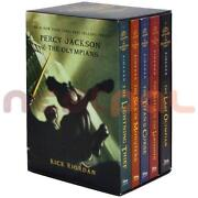 Percy Jackson 5 Book Set