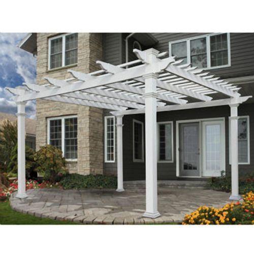 pergola kit yard garden outdoor living ebay. Black Bedroom Furniture Sets. Home Design Ideas