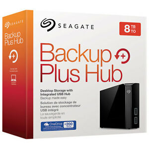 8TB Seagate External Hard Drive - FACTORY SEALED