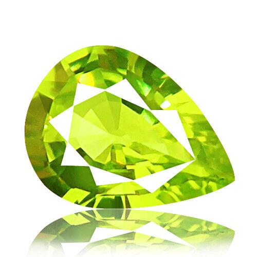 Chrysoberyl 1.39ct Alexandrite family yellowish green 100% natural earth mined