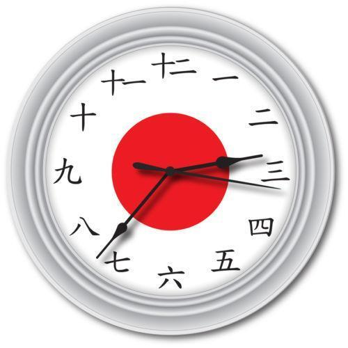 Japanese Wall Clock Ebay