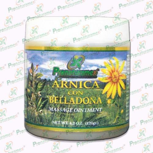 Pomada De Arnica con belladona 4.2 Oz.