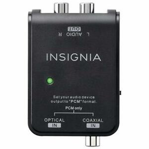 Insignia NS-HZ313-C 0.91m (3 ft.) Digital to Analog Audio Converter Cable (Open Box)