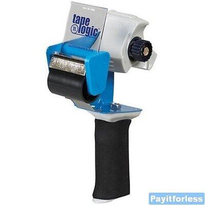 2 Comfort Grip Foam Handle Packing Packaging Tape Gun Dispenser