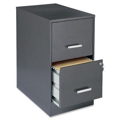 Lorell Soho 22 2-drawer File Cabinet - 14.3 X 22 X 26.7 - 2 X Drawers For