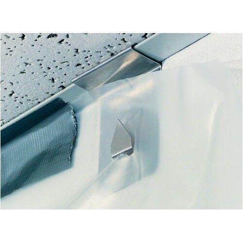 Poly Hanger Ceiling Mount  - Hang Plastic Sheeting - Visqueen - Case of 100