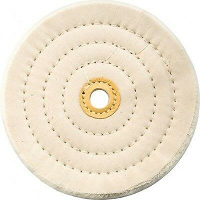 8 Inch Round Cotton Buffing Buffer Wheel For Bench Top Polisher Grinder