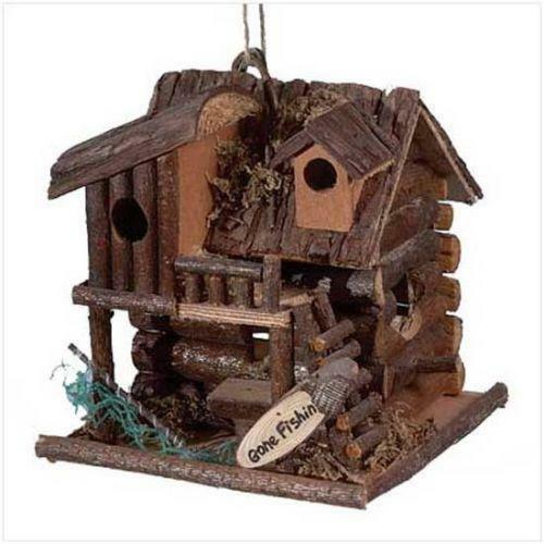 Decorative Bird House Theme And Kids Rooms Ideas: Rustic Fishing Decor