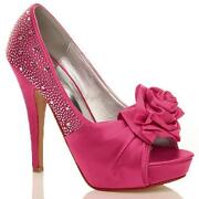 Fuschia Pink Shoes