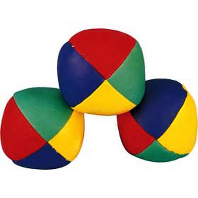 Set Of 3 Professional Juggling Balls Clown Circus