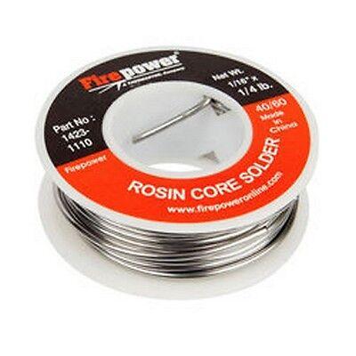 Firepower 1423-1110 Solder Rosin Flux Core 4060 116