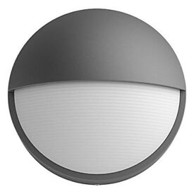 Philips myGarden Capricorn LED Outdoor Wall Light, 1x6 W Integrated LED Light