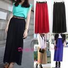 Chiffon Long Solid Casual Women's Maxi Dresses