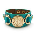 Turquoise Leather Cuff Bracelets for Men