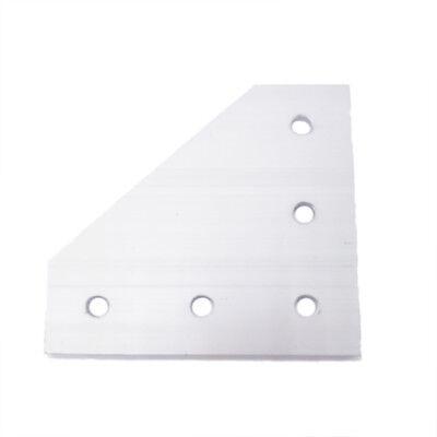 1pcs 90 Degree Joining Plate 5 Holes For Eu Standard 4545 Aluminum Profile Slot