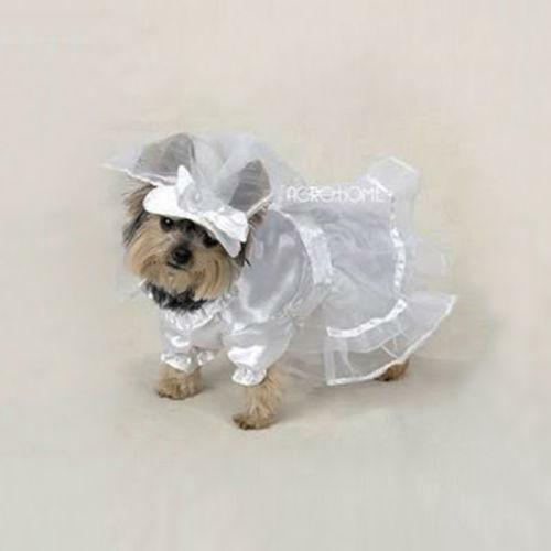 Dog wedding dress ebay for Wedding dress for dog