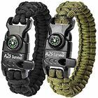 Blacks Kit Paracord Bracelets