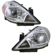 2007 Nissan Versa Headlight