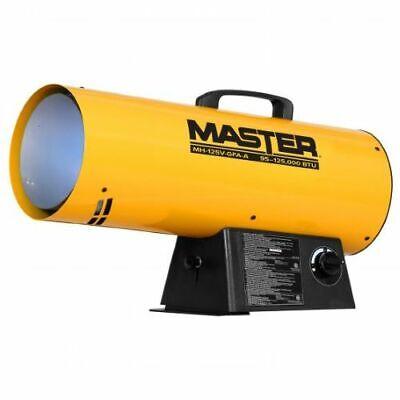 Master Mh-125v-gfa-a 95110125000 Btu Propane Forced Air Torpedo Heater