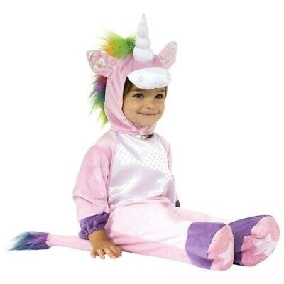 Rubies 6-12 Months Unicorn Costume Jump Suite and Head Piece and Tail MPN 510069