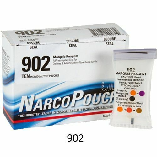 Home Drug Test Kit Narcopouch (Box of 10) CLOSEOUT!
