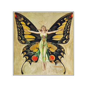 Fantasy Butterfly Fairy Refrigerator Fridge Gift Magnet Free Shipping World Wide