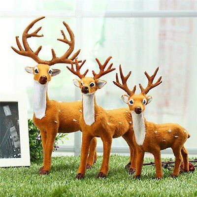 Weihnachtsbaum Handwerk (Weihnachten Rentier Weihnachtsmann Handwerk Elch Heim Baum Dekor Ornament)