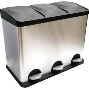 HQV 947608 3-Compartment Waste / Recycling Smart Bin (New Other) ***Read***