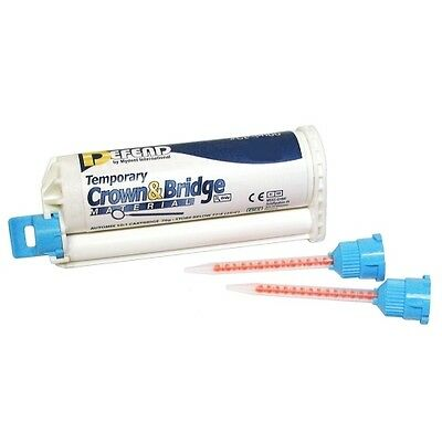 Defend Temporary Crown Bridge Material Shade A3 - 50ml Cartridge 10 Mixing Tip