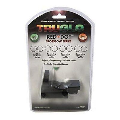 1655 TruGlo Multi-Dot Red Dot Sight Crossbow Series TG8350B4