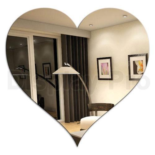 Heart Shaped Mirror Ebay