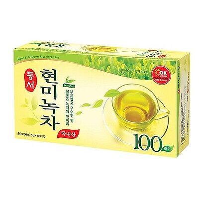 Korea Brown Rice Green Tea 1.5g X 100 Tea Bags