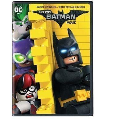 The Lego Batman Movie  Dvd 2017  New Animation