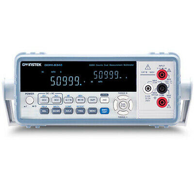 Instek Gdm-8341 50000 Count Digital Multimeter With Usb Device