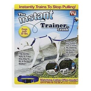 """No more pull"" instant dog trainer leash"