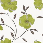 Black cream brown wallpaper ebay - Red brown and cream wallpaper ...