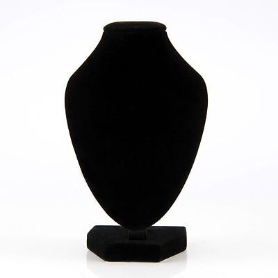 10 Velvet Mannequin Necklace Jewelry Display Stand Holder Decorate Pendant Bust