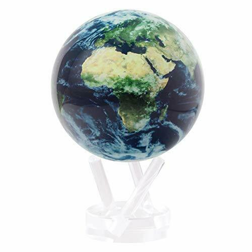 "Earth with Clouds MOVA Globe 4.5"""